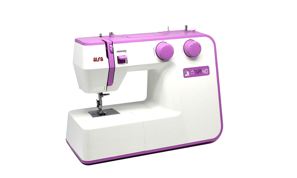 máquina de coser alfa style 40
